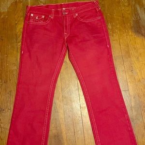 TRUE RELIGION JEANS (RED) STRAIGHT